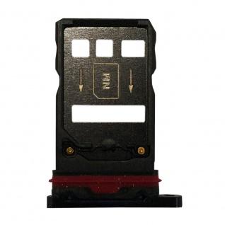 Für Huawei Mate 20 Pro Karten Halter Sim Tray Schlitten Holder Lila Ersatzteil