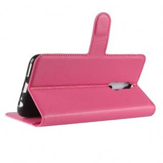 Tasche Wallet Premium Pink für Huawei Mate 10 Lite Hülle Case Cover Etui Schutz - Vorschau 4