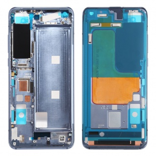 Gehäuse Rahmen Mittelrahmen kompatibel für Xiaomi Mi 10 5G Grau Ersatz Reparatur