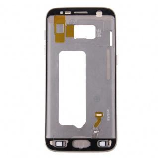 Gehäuse Rahmen Deckel kompatibel Samsung Galaxy S7 G930 G930F Kleber Gold - Vorschau 3
