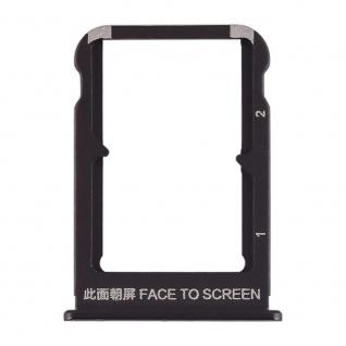 Sim Card Tray für Xiaomi Mi Mix 3 Schwarz Karten Halter Schlitten Ersatzteil