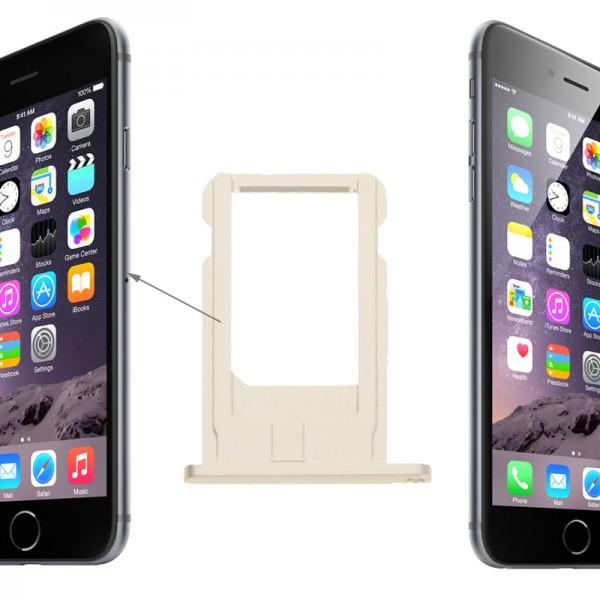 Iphone 6 Welche Sim Karte.Sim Karten Halter Adapter Gold Sim Tray Für Apple Iphone 6 4 7 Und 6 Plus 5 5