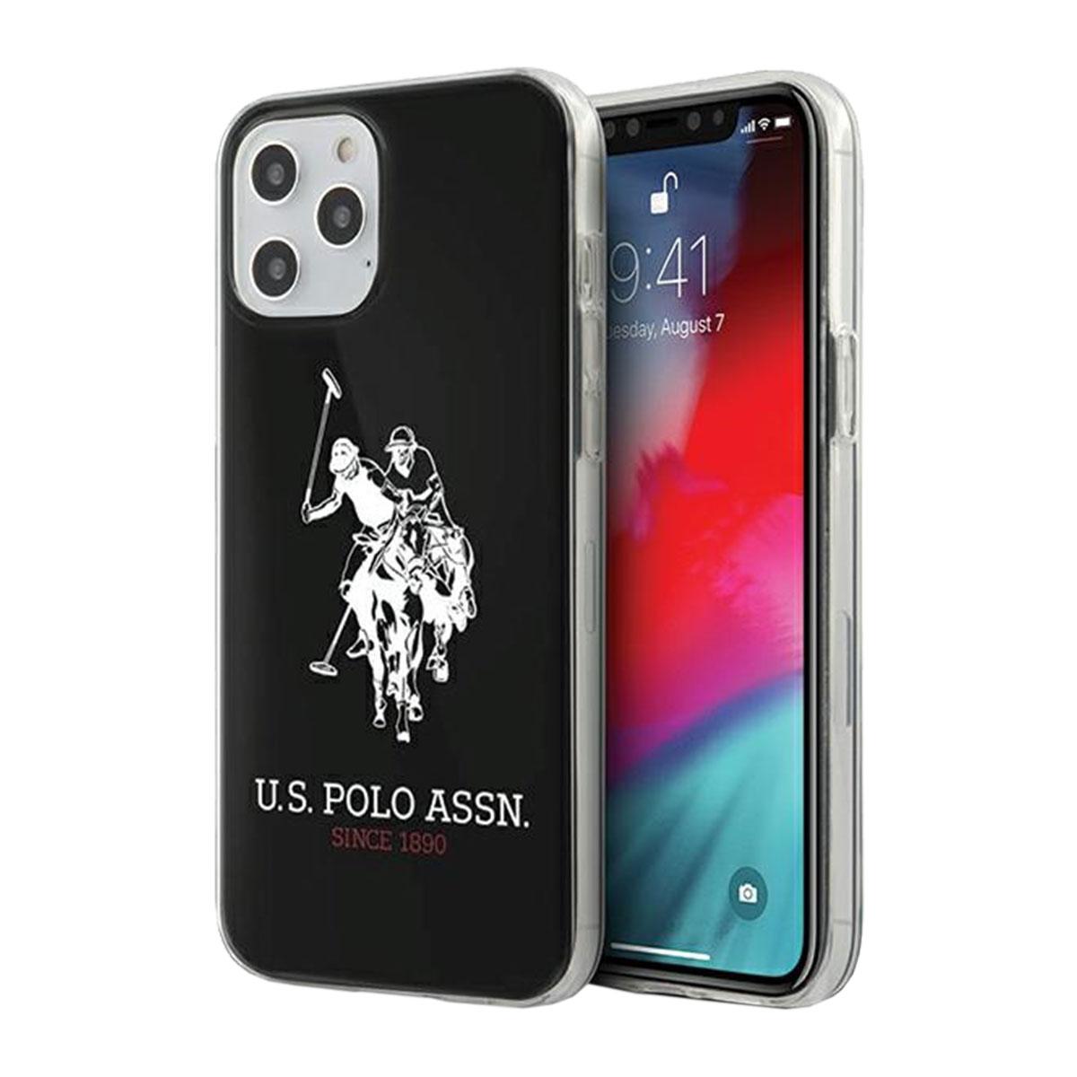 US Polo iPhone 12 / 12 Pro 6.1 Silikon Hülle Shiny Schwarz Case Cover Hülle  - Kaufen bei Wigento GmbH