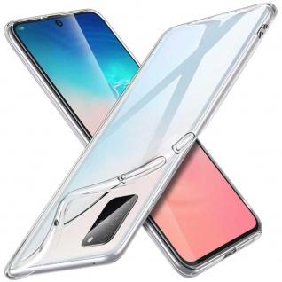Für Samsung Galaxy S10 Lite G770F Silikon Schutz Transparent Handy Tasche Etuis