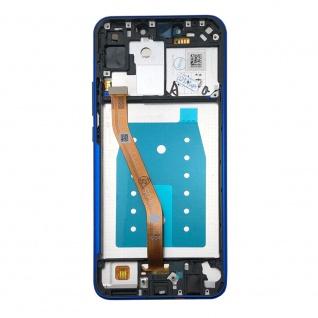 Für Huawei P Smart Plus Display Full LCD Touch mit Rahmen Reparatur Blau Ersatz - Vorschau 4