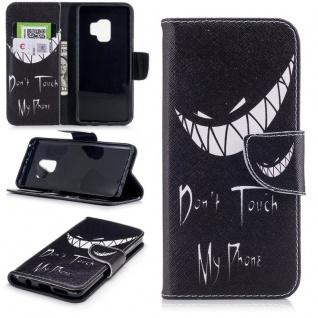 Tasche Wallet Book Muster Motiv 25 für Smartphones Schutz Hülle Case Cover Etui