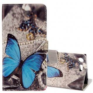 Schutzhülle Motiv 25 für Sony Xperia XZ1 G8341 G8342 Tasche Hülle Case Zubehör
