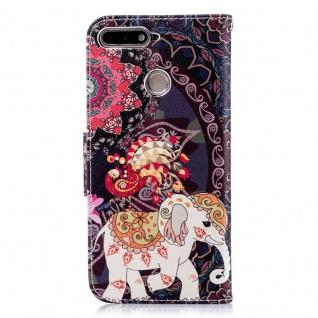 Tasche Wallet Book Muster Motiv 40 für Smartphones Schutz Hülle Case Cover Etui - Vorschau 3