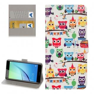 Schutzhülle Muster 78 für Huawei Nova Bookcover Tasche Case Hülle Wallet Etui