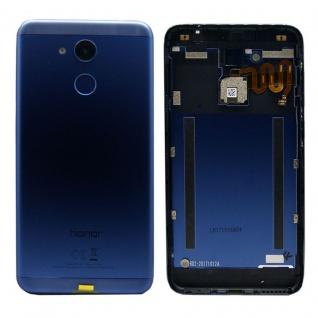 Huawei Akkudeckel Akku Deckel Batterie Cover Blau für Honor 6C Pro / 97070SVX