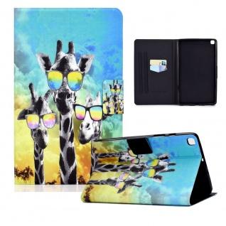 Für Samsung Galaxy Tab S6 Lite P610 Motiv 84 Tablet Tasche Kunst Leder Etuis Neu