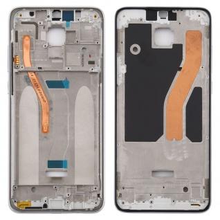 Gehäuse Rahmen Mittelrahmen Deckel für Xiaomi Redmi Note 8 Pro Weiß Ersatz
