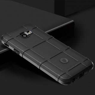Für Samsung Galaxy J4 Plus J415F Shield Series Outdoor Schwarz Tasche Hülle Case