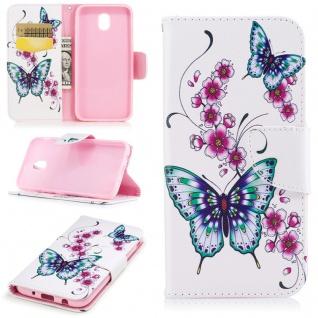 Tasche Wallet Motiv 37 für Samsung Galaxy J5 J530F 2017 Hülle Case Etui Cover