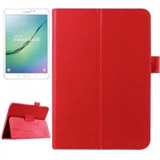 Schutzhülle Rot Tasche für Samsung Galaxy Tab S2 8.0 SM T710 T715N Hülle Case