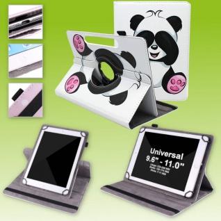 Für Huawei MediaPad T5 10.1 360 Grad Motiv 11 Tablet Tasche Kunst Leder Etuis