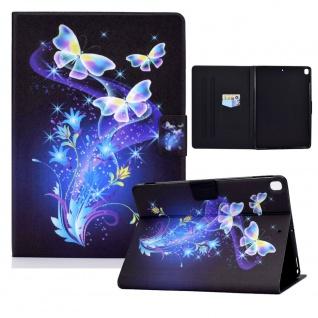 Für Apple iPad 10.2 2019 / 2020 7. / 8. Gen Motiv 87 Tablet Tasche Kunst Leder