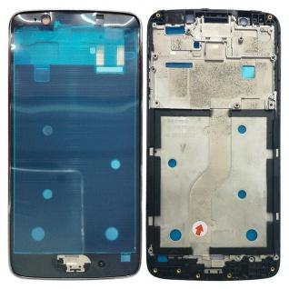 Gehäuse Rahmen Mittelrahmen Deckel für Motorola Moto G5 Grau Reparatur Neu