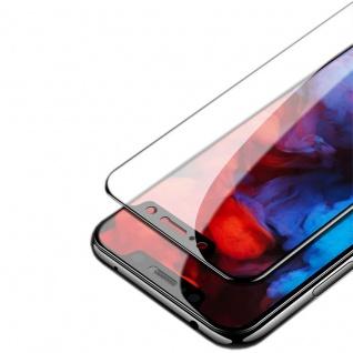 Für Xiaomi Redmi Note 6 Pro 1x 3D Display 0, 3 mm H9 Hart Glas Schwarz Folie Neu