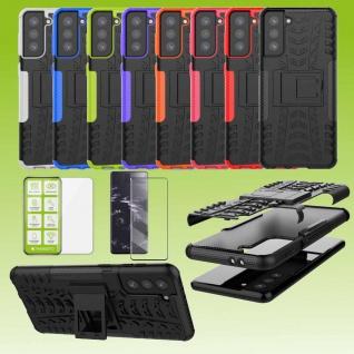 Hybrid Case 2 teilig Outdoor Handy Tasche Hülle für viele Samsung Galaxy Modelle