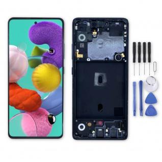 Samsung Display LCD Kompletteinheit für Galaxy A51 5G A516N GH82-23100A Schwarz - Vorschau 1