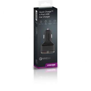 Quick Charge 4x USB Car KFZ Auto Schnellladegerät 7, 2 A für Smartphones Tablets - Vorschau 3