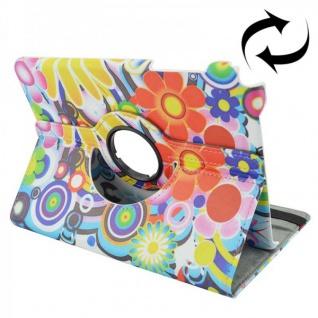 Schutzhülle 360 Grad Muster 1 Tasche für Samsung Galaxy Tab A 9.7 T550 T555N Neu