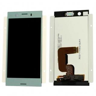 Sony Display LCD Komplett für Xperia XZ1 Dual G8342 Reparatur Blau Ersatzteil