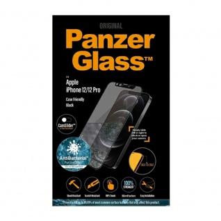 Für Apple iPhone 12 / 12 Pro 6.1 Zoll 9D Full Curved H9 Hart Glas Schwarz