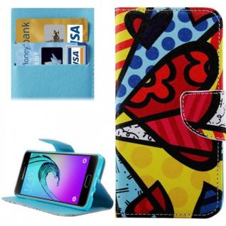 Schutzhülle Muster 70 für Samsung Galaxy A5 2016 A510F Tasche Cover Case Hülle