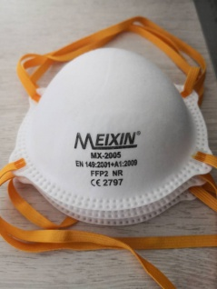 100x MEIXIN Hochwertige Medizinische Atem Schutzmaske Atemschutzmaske FFP2 Schutz Maske Zubehör Neu - Vorschau 5