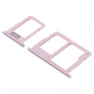 Für Samsung Galaxy J3 J330FJ5 J530FJ7 J730F 2017 Simkarten Halter Tray Pink Neu