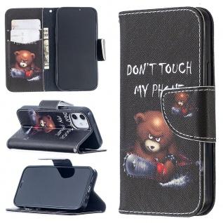 Für Apple iPhone 12 Mini Kunstleder Handy Tasche Motiv 30 Hülle Case Etuis Cover
