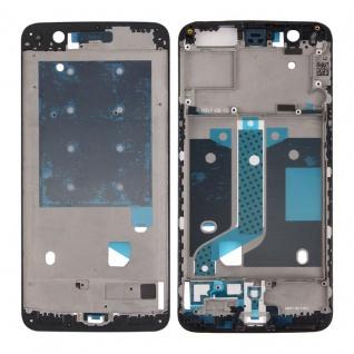 Gehäuse Rahmen Mittelrahmen Deckel kompatibel für ONEPlus 5 Reparatur Schwarz