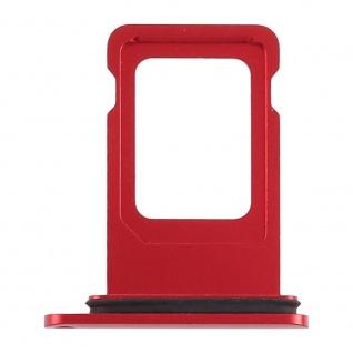 Für Apple iPhone XR 6.1 Zoll Sim Karten Halter Rot SD Card Ersatzteil Zubehör