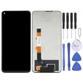 Für Xiaomi Redmi Note 9 5G Display Einheit Touch Ersatzteil Reparatur Schwarz