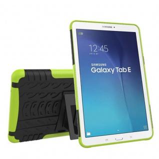 Hybrid Outdoor Schutzhülle Grün für Samsung Galaxy Tab E 9.6 SM T560 Tasche Case