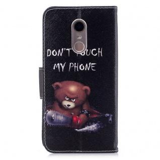 Tasche Wallet Book Cover Motiv 30 für Xiaomi Redmi 5 Plus Etui Hülle Case Neu - Vorschau 5