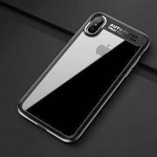 Original ROCK Bumper Case für Apple iPhone X / XS Tasche Hülle Etui Neu Schwarz