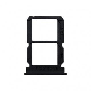 Simkarten Halter für OnePlus 5T Schwarz Schlitten Ersatz Sim Card Tray Reparatur