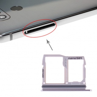 Sim Karten Halter für LG G6 Card Tray Silber Ersatzteil Schlitten Reparatur