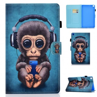 Für Samsung Galaxy Tab A7 2020 Motiv 64 Tablet Tasche Kunst Leder Hülle Etuis