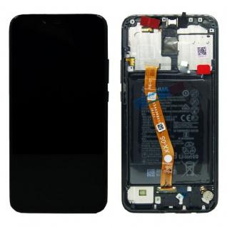 Huawei Display LCD Rahmen für Mate 20 Lite Service 02352DKK Schwarz Batterie Neu