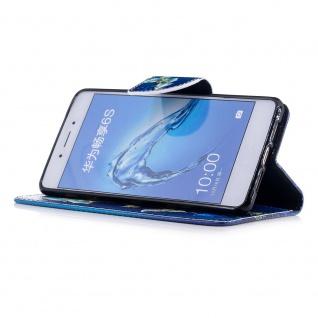 Tasche Wallet Motiv 23 für Huawei Y6 2019 Hülle Case Etui Cover Schutz Cover Neu - Vorschau 5