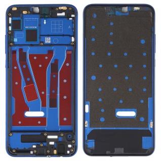 Mittelrahmen für Huawei Honor 8X Blau Front Housing LCD Gehäuse Ersatzteil