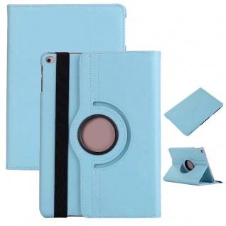 Schutzhülle 360 Grad Hellblau Case Cover Etui Tasche für NEW Apple iPad 9.7 2017