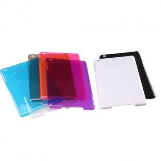 Hardcase Glossy für Apple iPad Air Case Cover Hülle Schale Zubehör Etui + Folie
