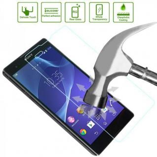 Premium 0, 3 mm dünne H9 Tempered Echt Hart glas Folie für Huawei Y6 Schutz Neu - Vorschau 2
