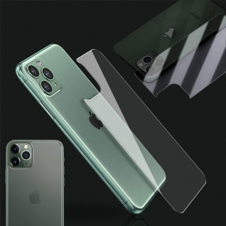 0, 26 mm H9 2.5D Hart Glas Rückseite Back Cover für Apple iPhone 11 6.1 Folie Neu