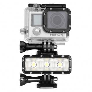 300LM Wasserdichte Lampe für GoPro HERO5 Session /5 /4 Session /4 /3+ /3 /2 /1 - Vorschau 1